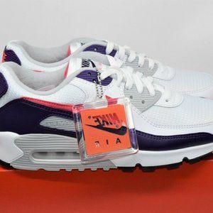 Nike Air Max 90 III Eggplant White Pink CW1360-100